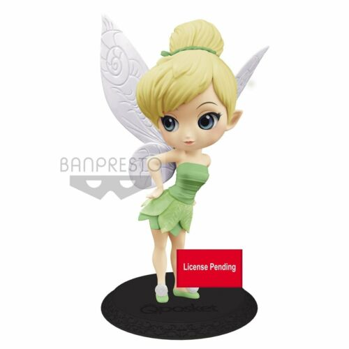 Leaf Dress Ver. B Tinker Bell Disney Q Posket Minifigur ca. 14 cm