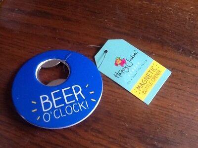Apprensivo Felice Jackson Magnetico Apribottiglie, Birra O 'clock- Prezzo Di Strada