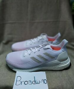 G28058-Adidas-Solar-Boost-19-Cloud-White-Grey-One-Solar-Orange-Men-039-s-Sz-11-5