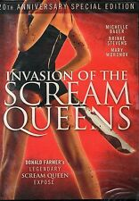 Invasion of the Scream Queens DVD Wild Eye Donald Farmer Brinke Stevens