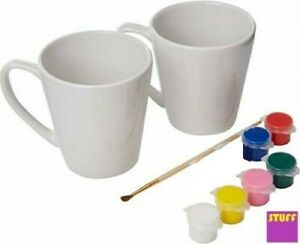 Paint Your Own Mug Decorate Craft Kit