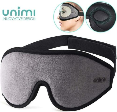 Sleep Mask Ultra Soft Breathable Eye Mask 100/% Blackout Eye Shades For Women Men