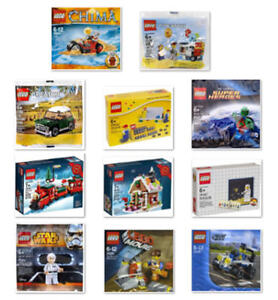 Lego Limited Edition Promo Exclusive Retired Set Kit Or Figure You Pick One Ebay