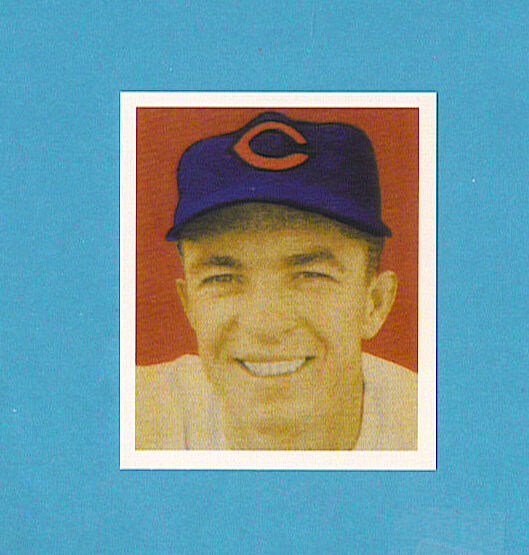 1949 Bowman Reprint #81 Virgil Red Stallcup Card - Cincinnati Reds