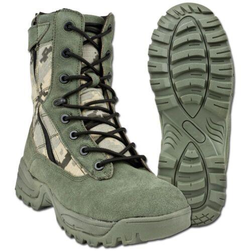 Mil-Tec Stiefel Tactical Boots Two-Zip Einsatzstiefel Armeestiefel AT-digital