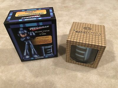 New Capcom Rockman Mega Man 25th Anniversary 10 OST Music CDs E-Tank and  Statue   eBay