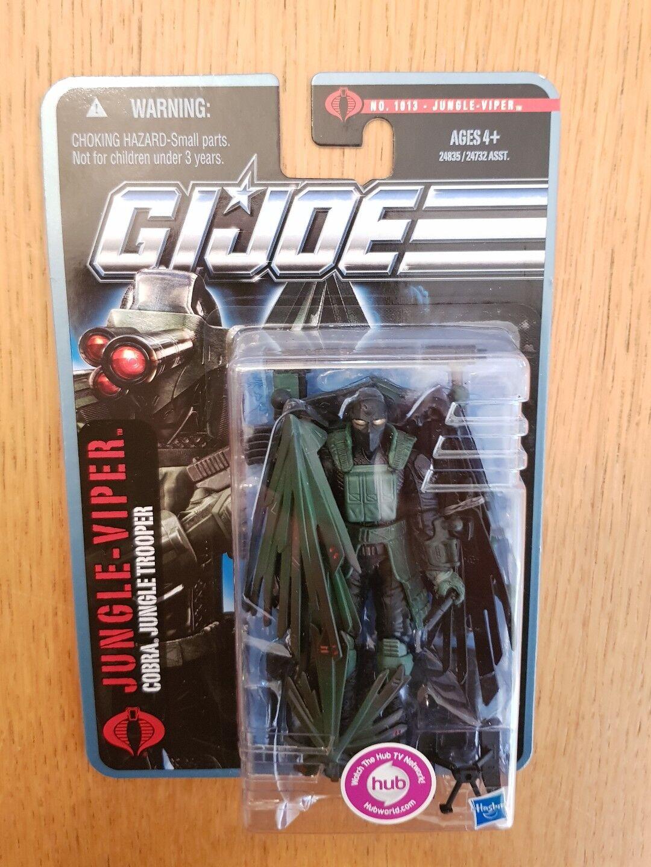 Fuerza de acción Gi Joe búsqueda de cobra selva Viper Nuevo Sellado Moc