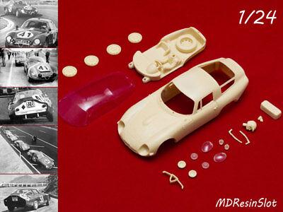 1/24 Alfa Romeo Giulia Tz1 (tubolare Zagato) 1964 Resin Body Kit Slot Car Diversificato Nell'Imballaggio