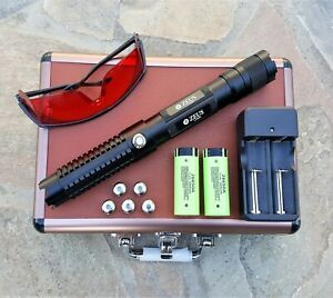 Powerful-Blue-Laser-Pointer-1mW-Focusable-Beam-445nm-Wicked-High-Power-Lazer