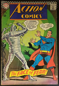 Action-Comics-349-1967-FN-6-0-Superman-DC-Silver-Age-Edition