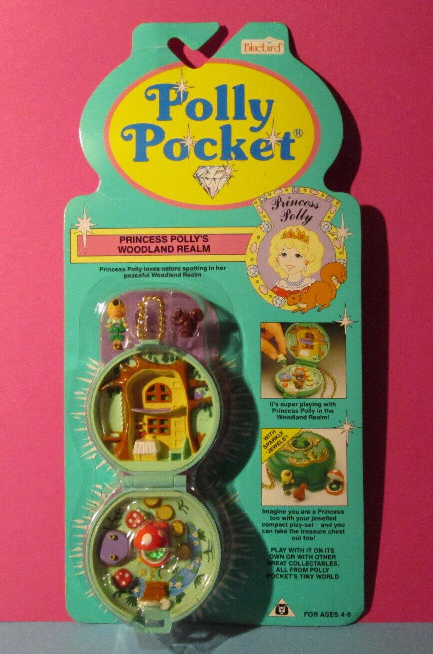 Polly Pocket Mini nuevo ♥ bosque cristal lata lata lata ♥ jeweled Forest ♥ 1992 ♥ New ♥ OVP ♥  la calidad primero los consumidores primero