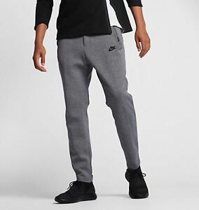 d4392c7136d63 Men Nike Tech Fleece Pants 861679 091 SIZE L Carbon Heather Black ...