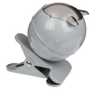 Metall-Aschenbecher im trendigen Retro Style Ø ca 7,5 cm 4 ansprechende Designs