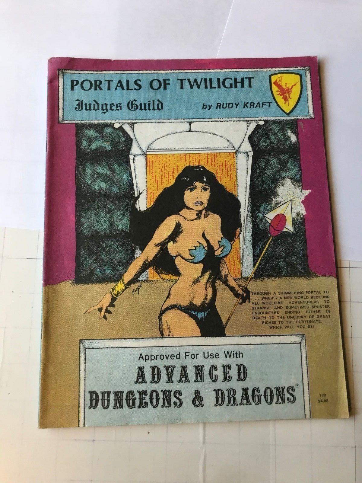 Adventure Module Portals of Twilight AD&D Judges Guild rudy kraft 1981 d&d rpg