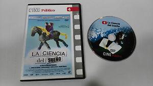 La Scienza del Sogno DVD Michel Gondry Castellano Francese Nuovo