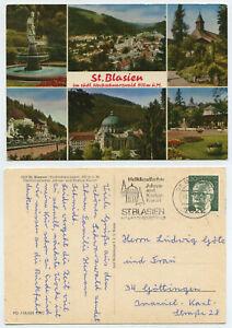 67581 - St. Blasien - Ansichtskarte, Werbestempel 27.6.1971 - Berlin, Deutschland - 67581 - St. Blasien - Ansichtskarte, Werbestempel 27.6.1971 - Berlin, Deutschland