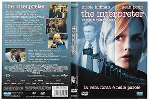 THE-INTERPRETER-2005-dvd-ex-noleggio