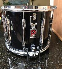 "Vintage Premier 12""x14"" Black Pearl Marching Snare drum !"