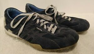 Details about Red Bull GEOX Respira Shoes Racing Formula One Team Suede  Blue Men 7 Women 8.5