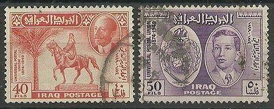 Mittlerer Osten WohltäTig Irak Minr 158/59 O Wohltuend FüR Das Sperma Briefmarken