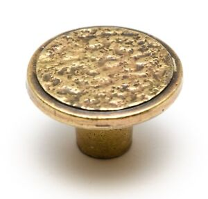 Vintage Brass Plated Drawer Cabinet Door Knobs Wardrobe Pull Handle