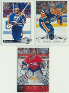 2019-20 Upper Deck Series 1 30 Years Gretzky Roy McDavid COMPLETE YOUR SET Upick