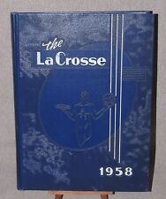 Yearbook The LaCrosse Wisconsin State College at La Crosse 1958