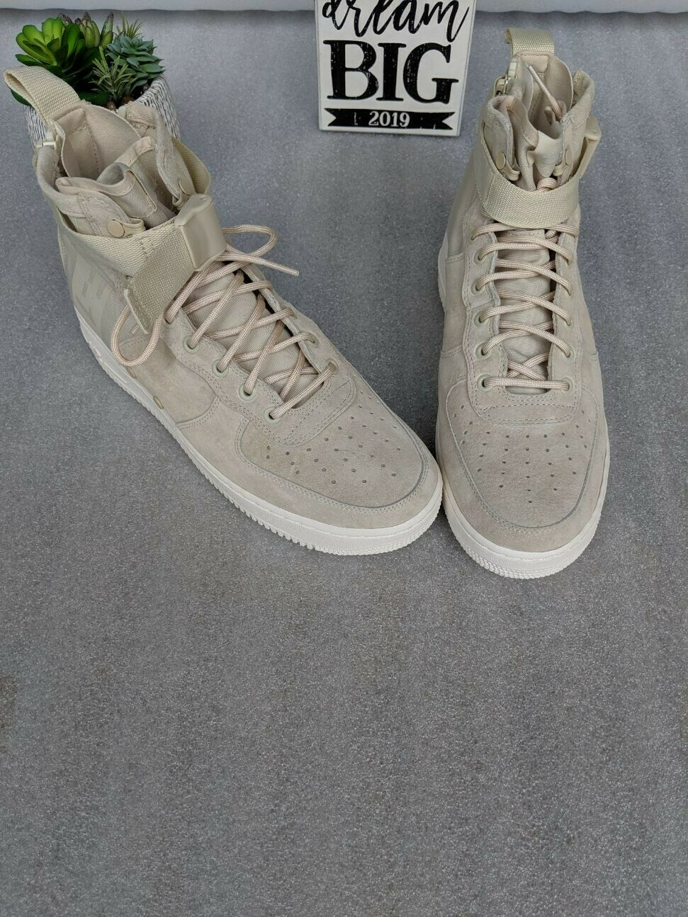 Air Force 1 Mid Fossil Beige  New Dimensione 11.5  n ° 1 online