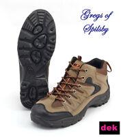 Men's DEK Ontario Trek Walking Hiking Boots Trainers Trail Shoe UK 6-12 M962E