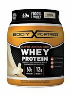 Body Fortress Super Advanced Whey Protein Powder Vanilla 2 Pound Free Shipping