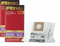 3m Filtrete Hoover Type Y And Type Z Cloth Vacuum Bags, 4 Pack