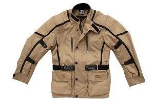 Cub alpina motocross sand motorbike road rally trail beige jacket coat