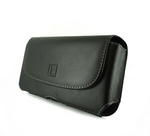 Krofel-Leather-Case-Pouch-Holster-Side-Clip-Cover-Belt-Loops-for-Cell-Phones