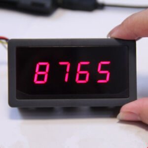 New-4-Digit-7-Seven-Segment-LED-Display-Controller-5V-Red-Arduino-Compatible