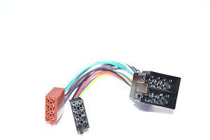 Autoradio-ISO-ISO-Verlaengerung-Kabel-UNIVERSAL-DIN-Radioadapter-STECKER-Buchse
