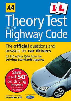 """""""VERY GOOD"""" AA Driving Test Theory and Highway Code (AA Driving Test Series), ,"""