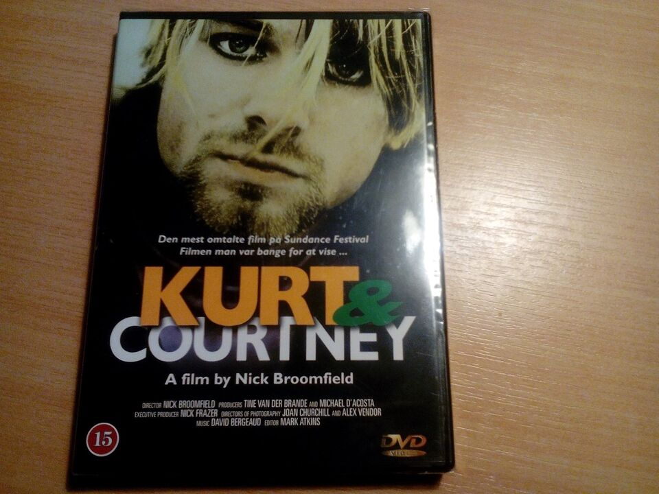 Kurt og courtney, DVD, dokumentar