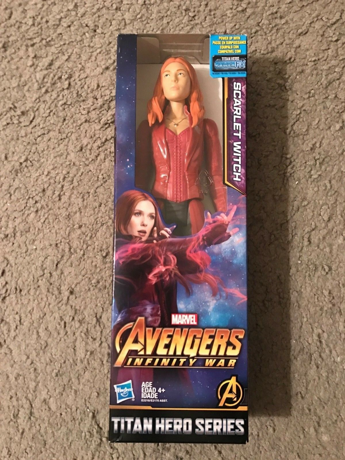 TOY  The Avengers  Scarlet Witch. Free shipping.