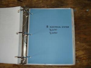 Kubota B2630 B3030 Tractor Electrical Wiring Diagram ...
