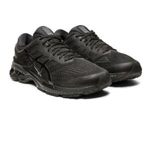 Asics-Homme-Gel-Kayano-26-Chaussures-De-Course-Baskets-Baskets-Noir-Sport