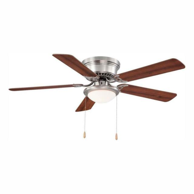 Contemporary Brushed Slate Ceiling Fan