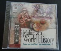 Multimedia World History Cd Rom Take The Mystery Out Of History Free Ship