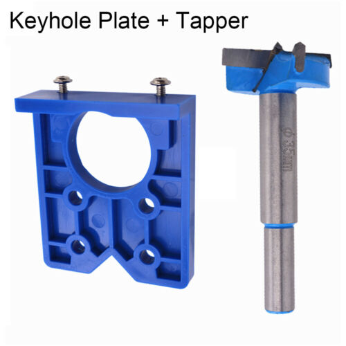 35MM Concealed Hinge Hole Guide Jig Drill Bit For Cabinet Woodworking