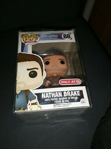 Funko Pop Games Uncharted 4 Nathan Drake Brown Shirt 88 Target Exclusive