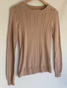 SKIN-amp-THREADS-light-Weight-Blush-Dusty-Pink-Cashmere-Blend-Knit-Top-Jumper-0