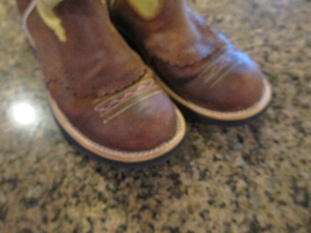 Ariat Fatbaby Cowgirl Woman's Chocolate  6.5 1/2 Woman's Cowgirl 36.5 Euro Kids 4.5 Leder a7e13a
