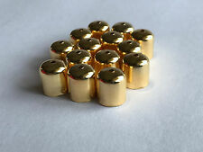 100 pcs Gold Plated Jewelry Findings Leather Barrel Cord Ends Crimp Caps Bead 71