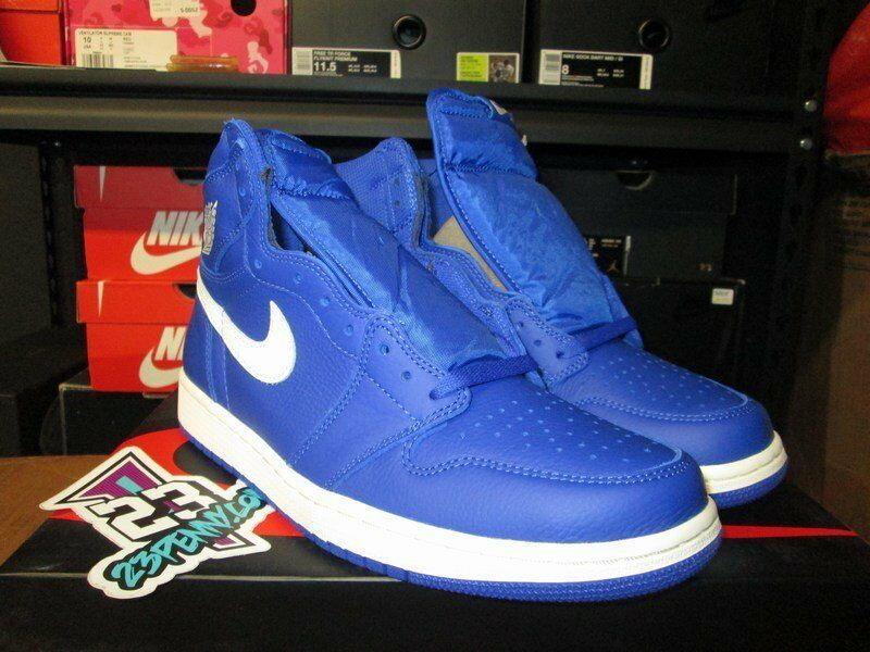 SALE AIR JORDAN 1 HIGH RETRO HYPER ROYAL BLUE BLUE BLUE WHITE SZ 8.5-14 NEW 555088 401 I 64e5e2