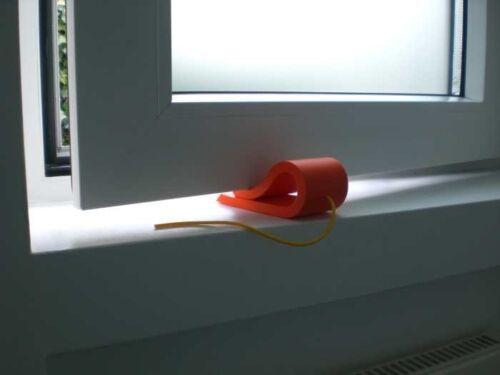 Cale-porte fenêtre butées fensterkeil windowstopper House Mouse orange-jaune