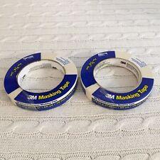 3m Masking Tape General Purpose 34 60 Yards Beige Lot Of 2 Rolls Exact Items